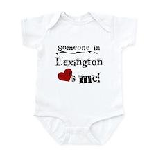 Lexington Loves Me Infant Bodysuit
