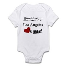 Los Angeles Loves Me Infant Bodysuit