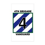 4th BDE Rectangle Sticker