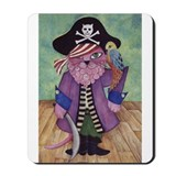 Cute Pirate cats Mousepad