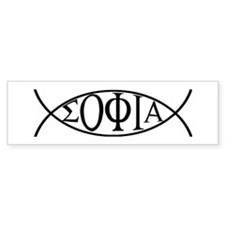 Gnostic Fish Bumper Bumper Sticker
