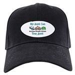 Aunt Triathlete Triathlon Black Cap
