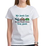 Aunt Triathlete Triathlon Women's T-Shirt