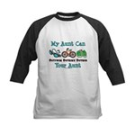 Aunt Triathlete Triathlon Kids Baseball Jersey