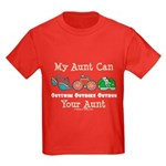 Aunt Triathlete Triathlon Kids Dark T-Shirt