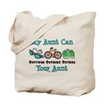 Aunt Triathlete Triathlon Tote Bag