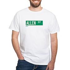 Allen Street in NY Shirt