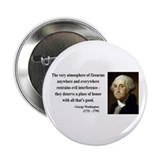 "George Washington 13 2.25"" Button"