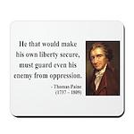Thomas Paine 3 Mousepad