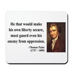 Thomas Paine 3 Mousepad