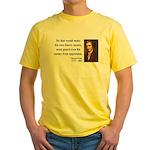 Thomas Paine 3 Yellow T-Shirt
