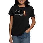 Thomas Paine 3 Women's Dark T-Shirt