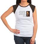Thomas Paine 3 Women's Cap Sleeve T-Shirt