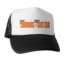 I Wear Orange For My Sister 6 Trucker Hat
