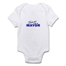 Trust Me I'm a Mayor Onesie