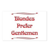 Blondes Prefer Postcards (Package of 8)