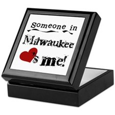 Milwaukee Loves Me Keepsake Box