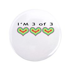 "I'm 3 of 3"" 3.5"" Button"