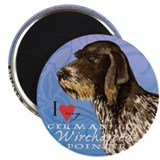 German wirehaired pointer Magnets