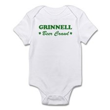 GRINNELL beer crawl Infant Bodysuit