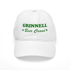 GRINNELL beer crawl Baseball Cap