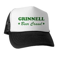 GRINNELL beer crawl Trucker Hat