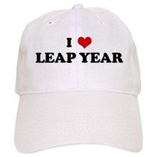 I Love LEAP YEAR Baseball Cap