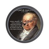 Francisco de Goya Painting Wall Clock