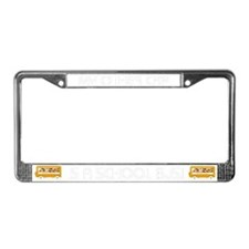 Bus Driver - The Right Track License Plate Frame