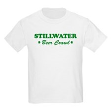 STILLWATER beer crawl T-Shirt