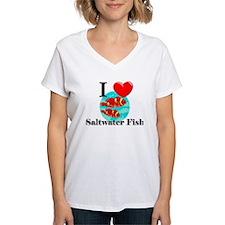 I Love Saltwater Fish Shirt