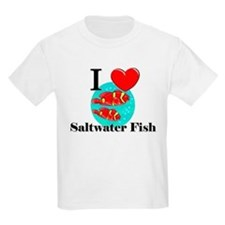 I Love Saltwater Fish T-Shirt