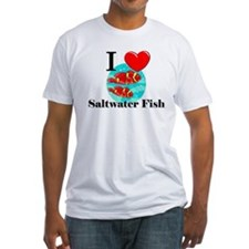 I Love Saltwater Fish Shirt