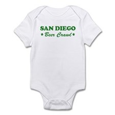 SAN DIEGO beer crawl Infant Bodysuit