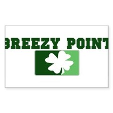 BREEZY POINT Irish (green) Rectangle Decal