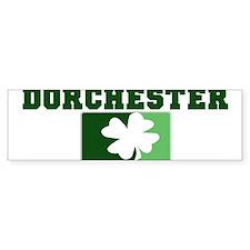 DORCHESTER Irish (green) Bumper Bumper Sticker