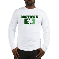 DOGTOWN Irish (green) Long Sleeve T-Shirt
