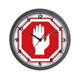 Stop, Israel Wall Clock