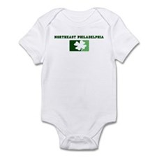 NORTHEAST PHILADELPHIA Irish Infant Bodysuit