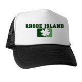 RHODE ISLAND Irish (green) Trucker Hat