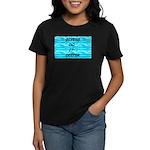 Divers Do It Deeper Women's Dark T-Shirt