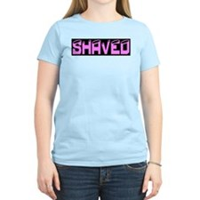 Shaved Women's Pink T-Shirt