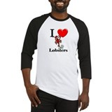 I Love Lobsters Baseball Jersey