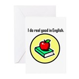 Englush Scholar Greeting Cards (Pk of 10)