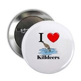 "I Love Killdeers 2.25"" Button"