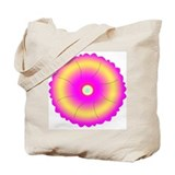 Hindu Flower Mandala Tote Bag