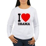 I Love Obama Women's Long Sleeve T-Shirt