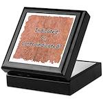 Indicated or Contraindicated? Keepsake Box