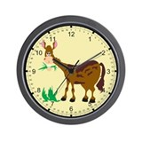 Happy horse Wall Clock