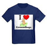 I Love Groundhogs T